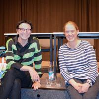 Beatrix Zurek und Simone Burger