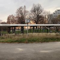 Busbahnhof ungenutzt