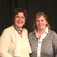 Maria Noichl und Ruth Waldmann