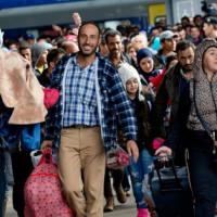 Ankunft Flüchtlinge